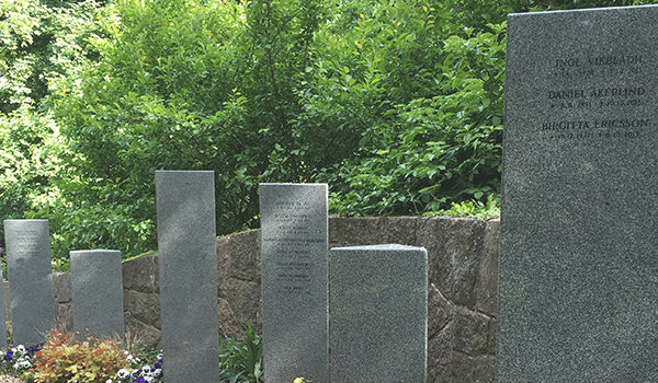 gravsättning, ordna begravning Stockholm